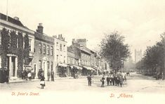 My Family History, St Albans, Old Photos, Saints, England, Street, City, Places, Pictures