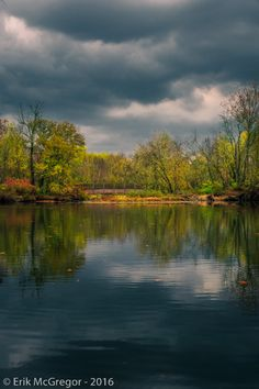 THE CALM BEFORE THE STORM - Composition Thursday #PhotoOfTheDay #rain #clouds #storm #water #river #warterways #habitat #ecosystem #WaterIsLife #autumn #fall #LeafTurning #foliage #trees #outdoors #climate #weather #NewYork #Ramapo #Ramapough #NaturePhotography #LandscapePhotography #photography #Nikon #NikonPhotography #art #ErikMcGregor #2016   © Erik McGregor - erikrivas@hotmail.com - 917-225-8963