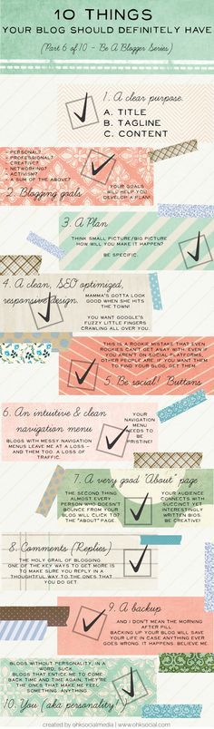 Does your blog have these 10 elements? #blogging #bloggingtips