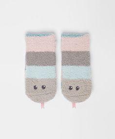 Fluffy snake socks - OYSHO - crina