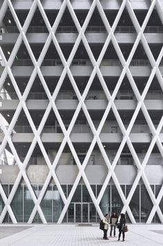 CAAU.  Hong Kong Institute of Design. #facade #design #architecture #structure #building #china