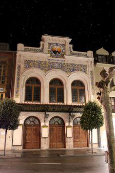 """""""TEATROS DE LA NOCHE"""" Teatro Lope de Vega, Valladolid (Epaña)."""
