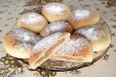 Dessert Recipes, Desserts, Sweet Recipes, Hamburger, Food And Drink, Bread, Cooking, Anna, Basket
