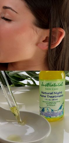 I bought it yesterday & put the night treatment on at bed time. It smells funny, kinda burns a little but when I woke up this morning & washed my face all the raised cysts I had have gone down & dried up. I can still tell where they were because the skin still has to heal of course but they aren't painful & red & I can tell it made a giant difference just over night with one application.