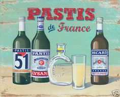 Hot day at the petanque court? Drink Pastis on #bastilleday