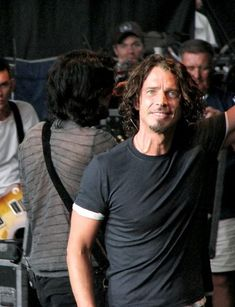 Chris Cornell's smile melts me! Chris Cornell, Most Beautiful Man, Beautiful People, Beautiful Things, Say Hello To Heaven, Temple Of The Dog, Smiling Man, Rockn Roll, My Muse