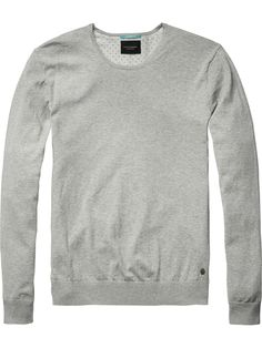 Classic Crew Neck Pullover   Pullover   Men Clothing at Scotch & Soda