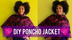 DIY Fall Clothes   How To Make a Poncho Jacket