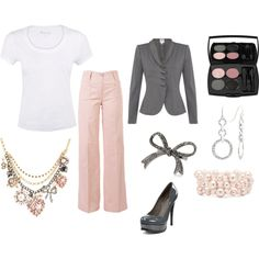 In the pink, created by jules2669 on Polyvore