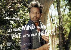 Manchmal fühlen wir eine Spannung zwischen dem, was wir wollen und dem, was gerade geschieht. Wenn wir diesen Moment aber so annehmen, wie er ist, können wir jede Herausforderung meistern. Dann können sich Geist und Herz miteinander verbinden und wir spüren dank dieser Einheit einen Frieden, der unser Leben bereichert. /// Let your mind fall in love with your heart. /// #KarmaLove #QuoteDesMonats Positive Messages, Yoga, Statements, Inspire Others, Karma, Real Life, Mindfulness, Positivity, Let It Be