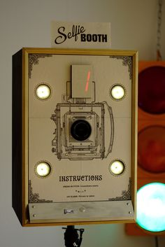 Vintage Photo Booth using Raspberry Pi with Arduino Photos Booth, Diy Photo Booth, Diy Wedding Photo Booth, Vintage Photo Booths, Vintage Photos, Vintage Photographs, Vintage Ads, Foto Flash, Diy Fotokabine