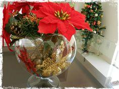 centro de mesa com festao de natal - Pesquisa Google