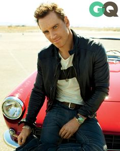 Michael Fassbender's GQ Cover Shoot