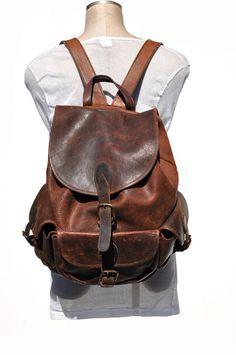 4bca1fd959 81 Best Vintage leather backpack images