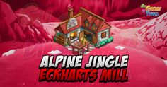 Alpine Jingle: Eckharts Mill (Crafting Cottage)  Eckharts Mill edificio di Crafting per lericette (che sono in questo caso i giochi per i bambini buoni di tutto il mondo compreso Daniel)della Alpine Jingle!  Nessuna novitàSi amplia in 5 livelli ciascuno dei quali sbloccherà nuove ricette.Troverete lelenco delle ricette edei bushelsnecessari per ognuna nella nostra pagina dedicata alle ricettequi:http://ift.tt/21mXJyH  Anche il procedimento per aumentare i livelli è sempre il solito ma se…