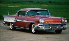 1958 Bonneville Two-Door Hardtop