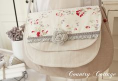 My Country Cottage Garden: I love my new shoulder bag!