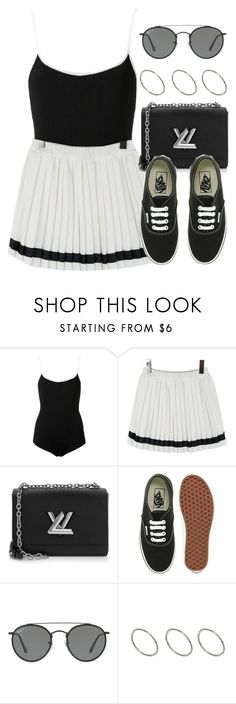 """""""Sin título #12837"""" by vany-alvarado ❤ liked on Polyvore featuring EGREY, Louis Vuitton, Vans, Ray-Ban and ASOS"""