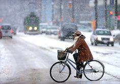 冬でも自転車