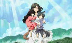 Buzz Pictures Sets Korean 'Wolf Children Ami And Yuki' Anime DVD/Blu-ray Release
