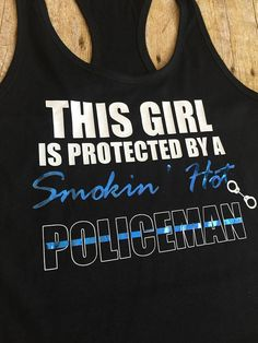 Police Wife Shirt Police Girlfriend Shirt This Girl is