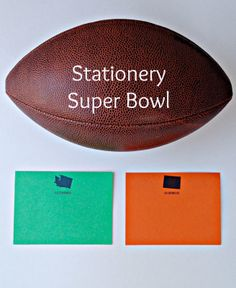 Super Bowl STATE of mind #superbowl #stationery