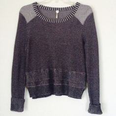 MARGARET O'LEARY SWEATER Beautiful sweater with ruffles in front and back. Sweater from San Francisco boutique, sweater looks like it could be FREE PEOPLE. GREAT CONDITION 💜 NO TRADES OFFERS WELCOME 💜 Margaret O'Leary Sweaters Crew & Scoop Necks