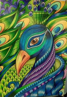 Could use as mosaic template use beads etc Peacock Painting, Peacock Art, Mural Painting, Art Sketches, Art Drawings, Art Africain, Indian Art Paintings, Bird Art, Rock Art