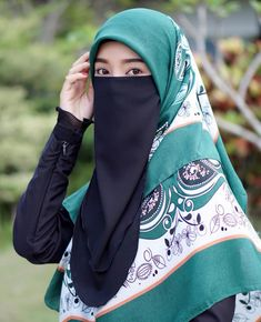 Islam, Hijab Dpz, Face Veil, Hijab Niqab, Beautiful Muslim Women, Hijabi Girl, Hijab Tutorial, Muslim Girls, Asian Woman