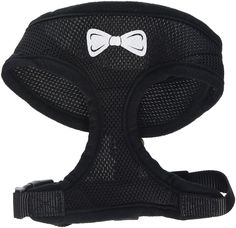 Mirage Pet Bow Tie Screen Print Soft Mesh Dog Harness -- Continue to the product at the image link. (This is an Amazon affiliate link)