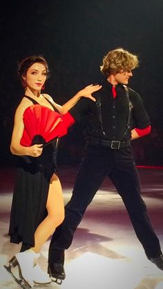 Meryl and Charlie Stars on Ice March 2015