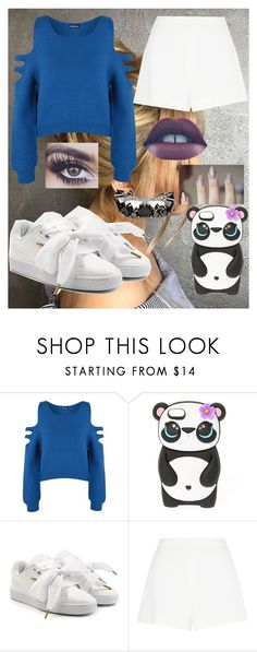 """""""Untitled #1316"""" by unique-john ❤ liked on Polyvore featuring WearAll, Puma, Giambattista Valli and Fernando Jorge"""