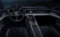 Porsche Mission E Interior & UI