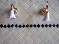 miniature tiles Carrelage La Boite à poupées