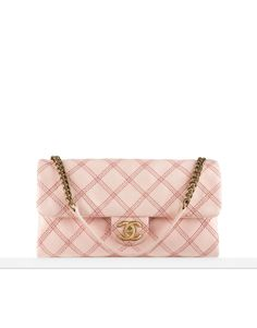 5c8c60854a The Beautiful Bags of Chanel Spring 2014 Pre-Collection -Chanel Metallic  Stich Flap Bag