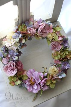 Beautiful for Spring, or even a Guest Room~❥