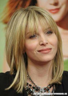 BANGS!! round-face-hairstyles-2013-21