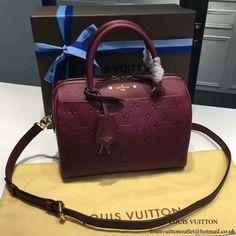 Louis Vuitton M43262 Speedy Bandouliere 25 Tote Bag Monogram Empreinte  Leather 9f9354afbdf