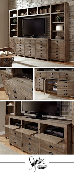 Keeblen Entertainment Stand - Living Room Furniture - TV Stand - Ashley Furniture