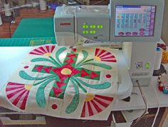 Look at what I made on my Janome