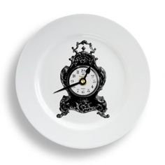 NYC Plate Clock by Y