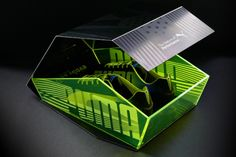 Puma Evo Speed Limited edition box by Everyone Associates