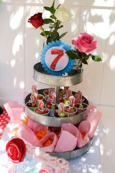Strawberry Shortcake and Strawberries Birthday Party Ideas | Photo 21 of 31