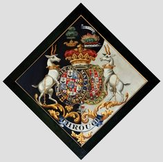 Hatchment of Alexander Hamilton, 10th Duke of Hamilton, 7th Duke of Brandon KG PC FRS FSA (1767-1852), married 1810 Susan Euphemia Beckford (1786-1859) Church of All Saints at Easton, Suffolk, England.