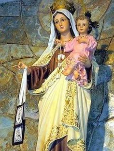 Maria Blessed Mother Mary, Blessed Virgin Mary, Lady Of Mount Carmel, Verge, Christian Artwork, Queen Of Heaven, Roman Catholic, Our Lady, Madonna
