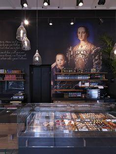 Binario 11 bar and restaurant, piazzale Cadorna, Milan, Italy - design Andrea Langhi