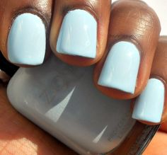 Zoya Blu swatched by Haute Lacquer. Zoya is the new color of fashion! Find it at http://www.zoya.com/content/38/category/Lovely_Spring_2013_Nail_Polish_Collection.html?O=PN130102WD121212