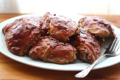 Hawaiian Huli Huli Chicken is tangy, sweet chicken made with pineapple, ginger, brown sugar and soy sauce.