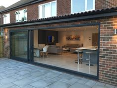 Rear and Side Extension in Tynemouth - JD Joinery Rear and Side Extension in Tynemouth - JD Joinery House Extension Plans, Side Extension, House Extension Design, House Design, Living Room Extension Ideas, Open Plan Kitchen Dining Living, Open Plan Kitchen Diner, Bungalow Extensions, House Extensions