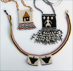 Beautiful traditional Zulu Love Letters